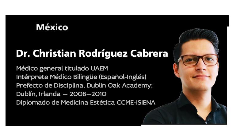 Dr. Christian Rodríguez Cabrera