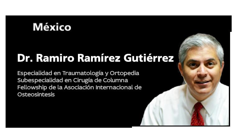 Dr. Ramiro Ramírez Gutiérrez