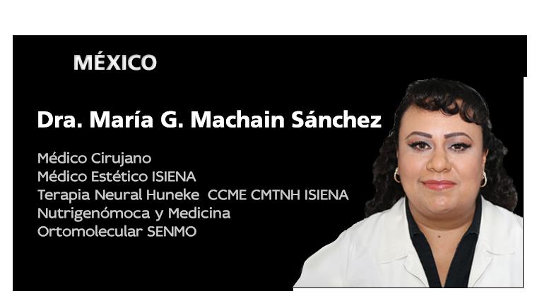 Dra. María Guadalupe Machain Sánchez