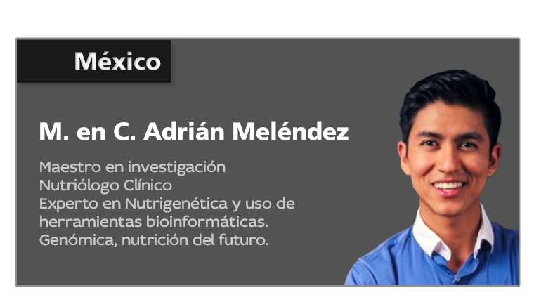 Nutriólogo Adrían Meléndez