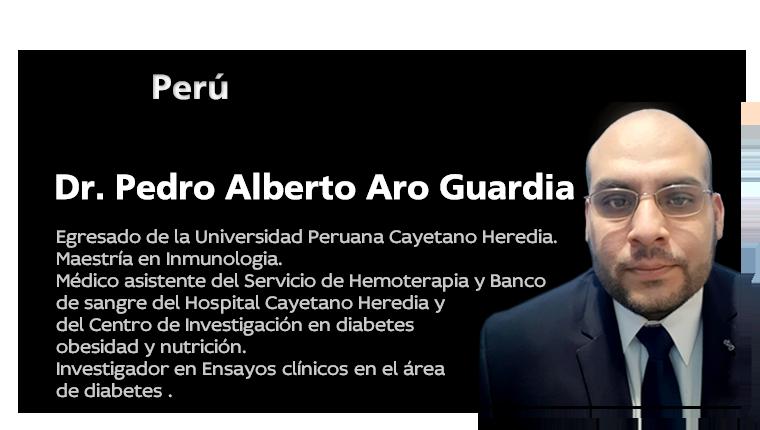 Dr. Pedro ALberto Aro Gaurdia